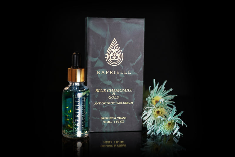 Blue chamomile & Gold antioxidant face serum