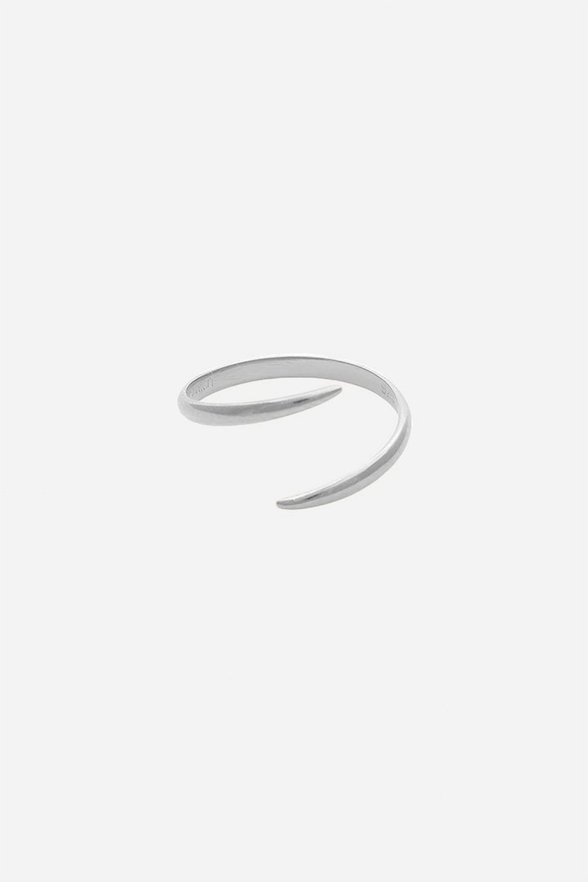 Modern Citizen | Modern Citizen-Sterling Silver Open Wrap Ring-Rings-One Size-Silver- $48