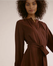 Remy Tie-Front Billow Sleeve Dress