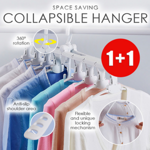 Space Saving Collapsible Hanger