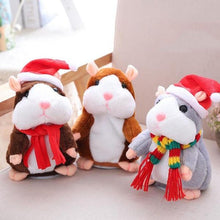 Load image into Gallery viewer, Talking Santa Hamster