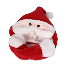 Load image into Gallery viewer, Plush Lighting Xmas Hat