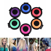 Load image into Gallery viewer, Hair Coloring Pressed Powder ( 6 Colors )