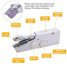 Load image into Gallery viewer, Mini Portable Handheld Sewing Machines