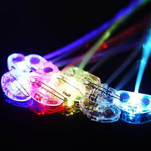 LED Hair Fiber Optic (10pcs)