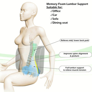 Memory Foam Lumbar Support