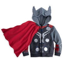 Load image into Gallery viewer, Kids Avengers Superhero Hoodies - Thor