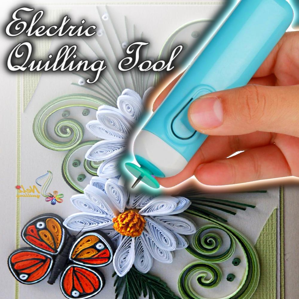 Electric Quilling Tool