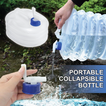 Load image into Gallery viewer, Portable Collapsible Bottle