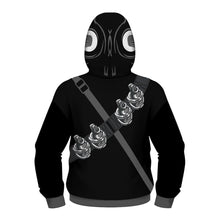 Load image into Gallery viewer, Kids Printed Superhero Collection Zip Hoodies - Snake Eye