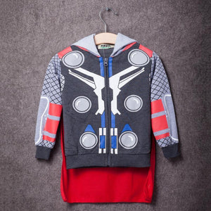 Kids Avengers Superhero Hoodies - Thor