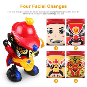 Face Changing Dancer Toys