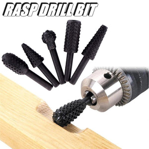 Woodworking Rasp Drill Bit