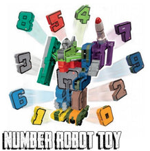 Load image into Gallery viewer, Number Robots Toys
