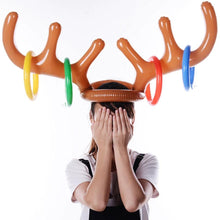 Load image into Gallery viewer, Christmas Inflatable Hat Toss Ring