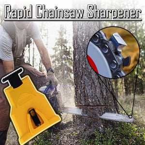 Rapid Chainsaw Sharpener