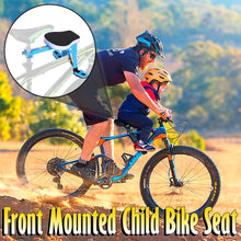 Load image into Gallery viewer, Front Mounted Child Bike Seat
