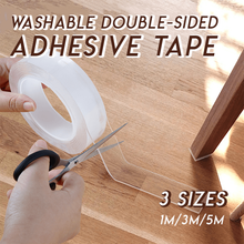 Load image into Gallery viewer, Washable Double-sided Adhesive Tape