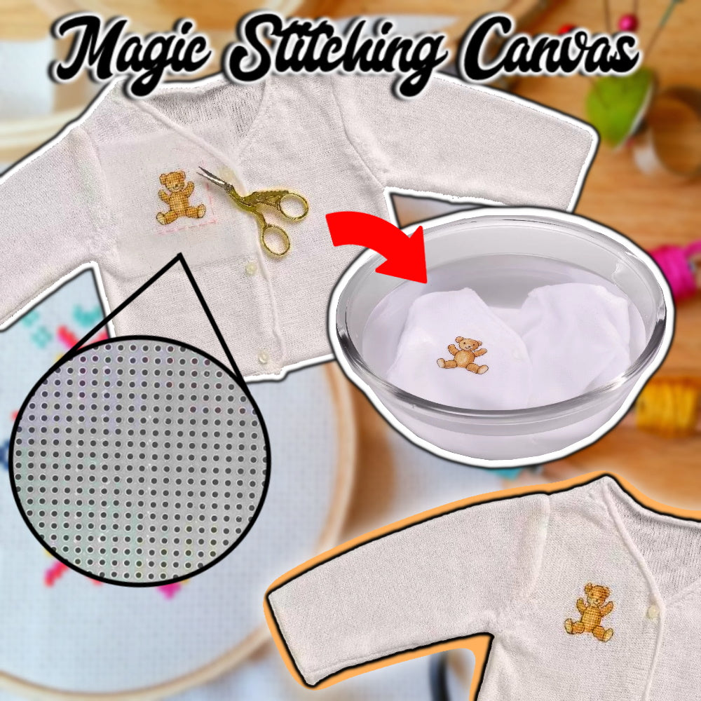 Magic Stitching Canvas (5 Pcs)