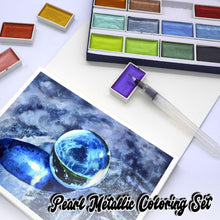 Load image into Gallery viewer, Pearl Metallic Coloring Set