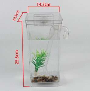 Self Cleaning Tank