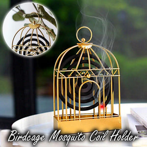 Birdcage Mosquito Coil Holder