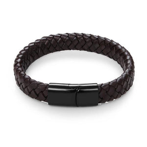 Rattle snake leather bracelet