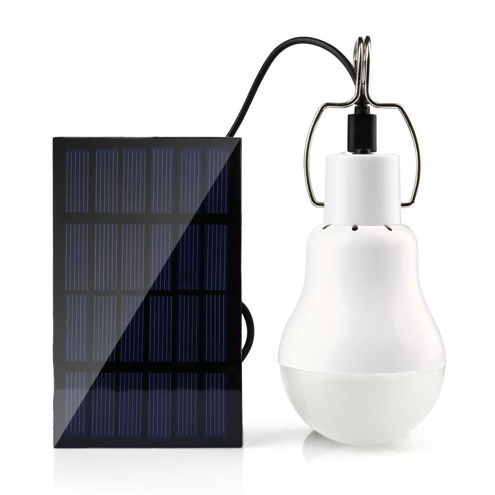 Portable Solar Powered LED Light  15W 130LM