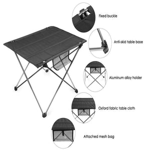 Ultralight Folding Table (Comes with pouch)