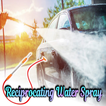 Reciprocating Water Spray