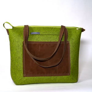 """My Big Bag"" Apple Green variant"