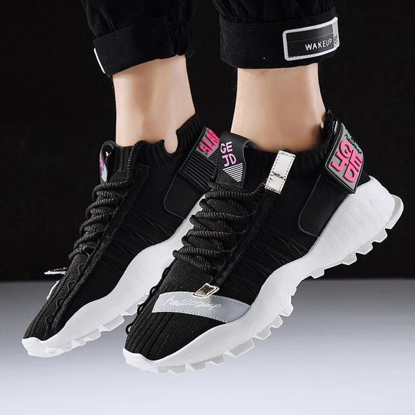 Flying sneakers teen casual shoes JD-2238
