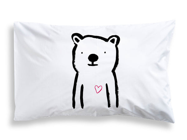 Sweetheart Bear Pillowcase