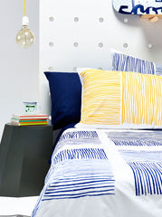 Yellow Lines Pillowcase