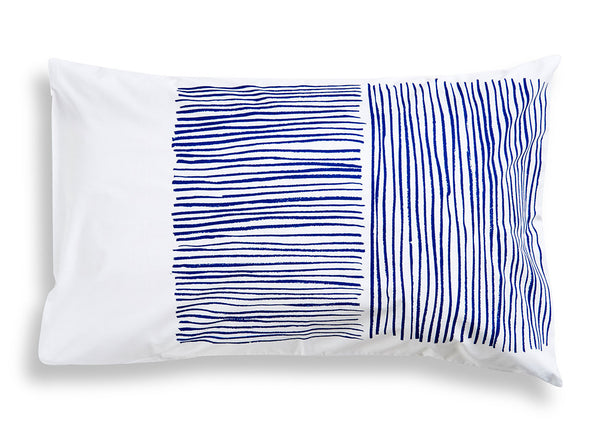 Navy Lines Pillowcase