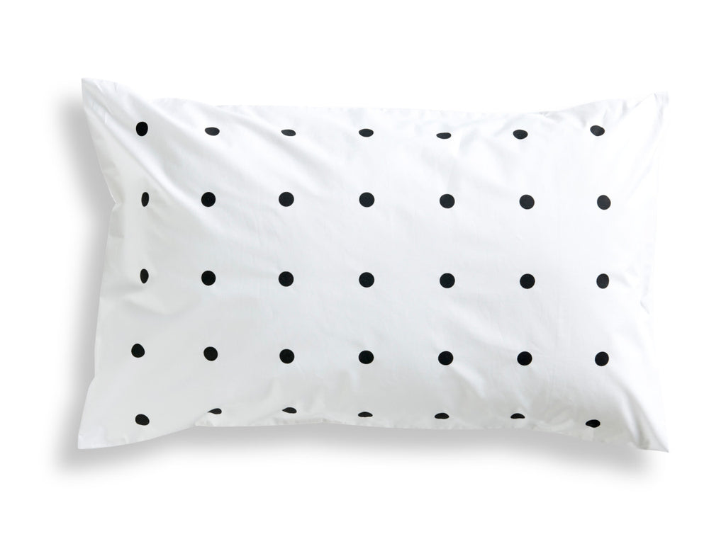 Black Pegboard Pillowcase
