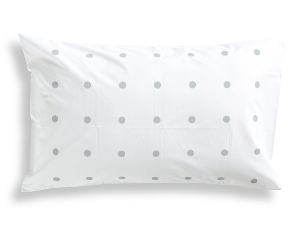 Grey Pegboard Pillowcase
