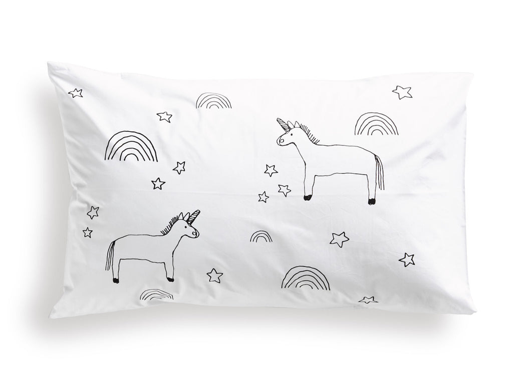 Elkie Unicorn Pillowcase