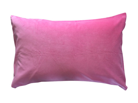 Pink Velvet Pillowcase