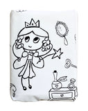 Fairy Princess Palace Duvet Cover -Black