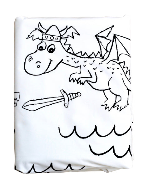 Little Dragon Duvet Cover