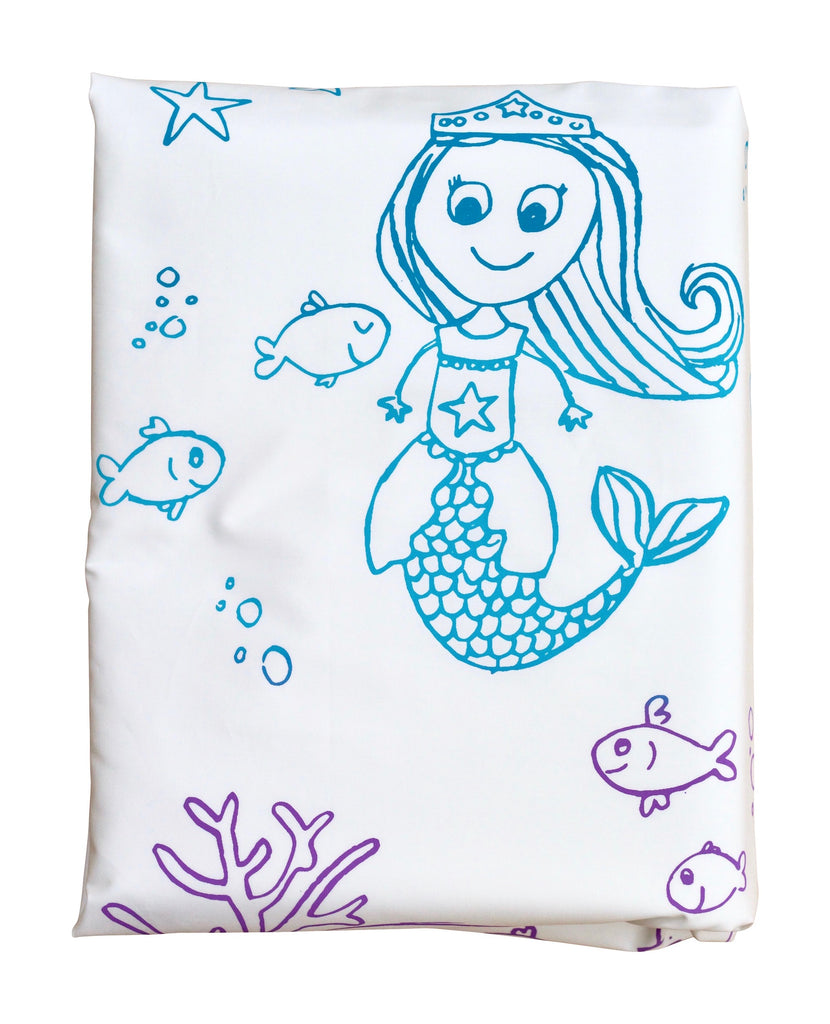 Molly Mermaid Duvet Cover -Rainbow