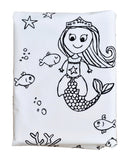 Molly Mermaid Duvet Cover -Black