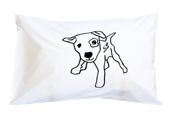 Bolt Dog Pillowcase