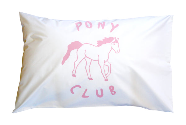 Pink Pony Club Pillowcase