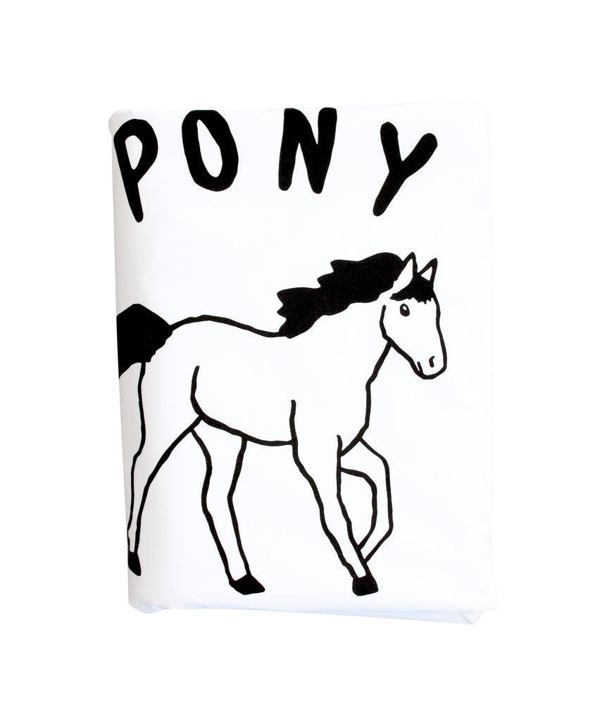 Black Pony Club Duvet Cover