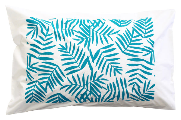 Teal Paradise Pillowcase