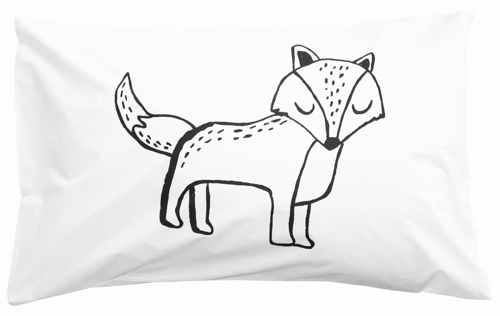 Sleeping Fox Pillowcase