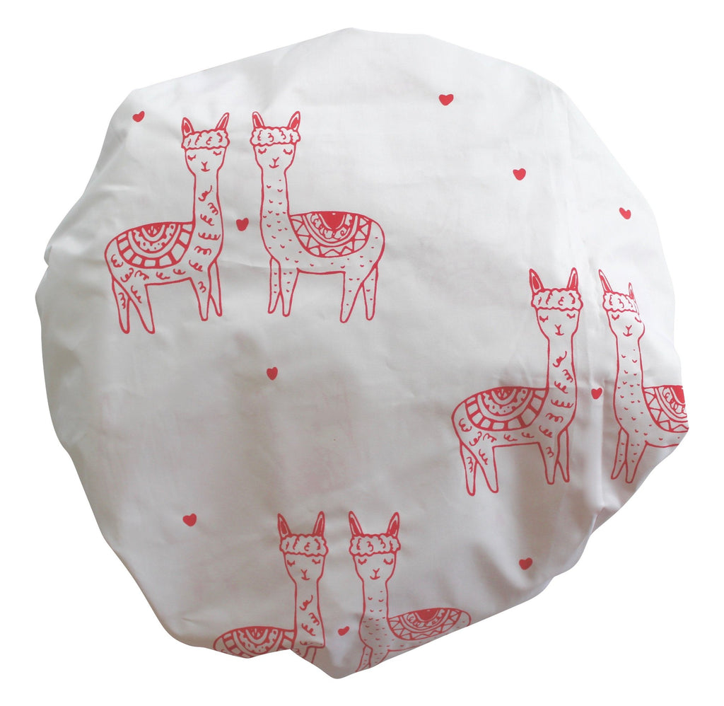 Mexican Pink Mini Llama Fitted Cot Sheet