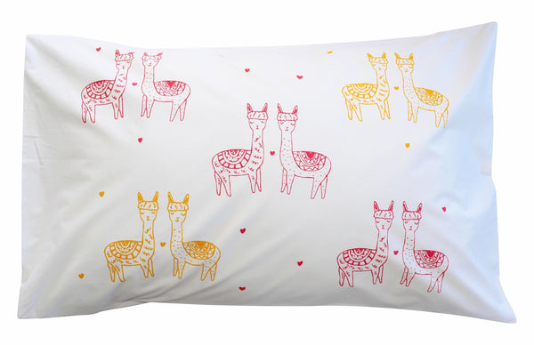 Mini Llama Pillowcase